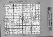 Index Map, Chickasaw County 1990